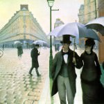 Caillebotte Paris Street Rainy Day