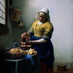 Jan_Vermeer_Painting_-_The_Milkmaid