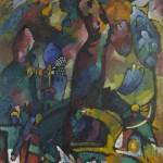 Kandinsky Picture With an Archer