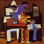 Picasso Three Musicians