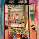The Open Window, Matisse