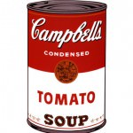 Warhol Campbells Soup Screenprint 1