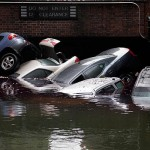 Hurricane Sandy Parking Garage