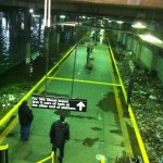 NY City Subway Flooding