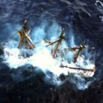 HMS Bounty sinking off the coast of North Carolina