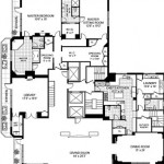 geffen penthouse blueprint floor 1