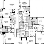 geffen penthouse blueprint floor 2