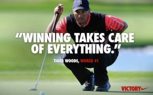 nike ad tiger woods winning
