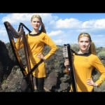 Weird Hot Star Trek Harp Twins