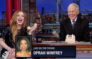 Dave And Lindsay Get Oprah On The Phone