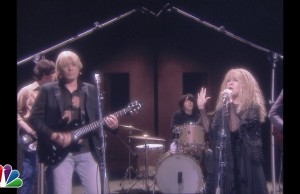 "Jimmy Fallon And Stevie Nicks Recreate The ""Stop Draggin' My Heart Around"" Video"
