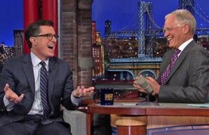 Stephen Colbert Tried to Work For Letterman