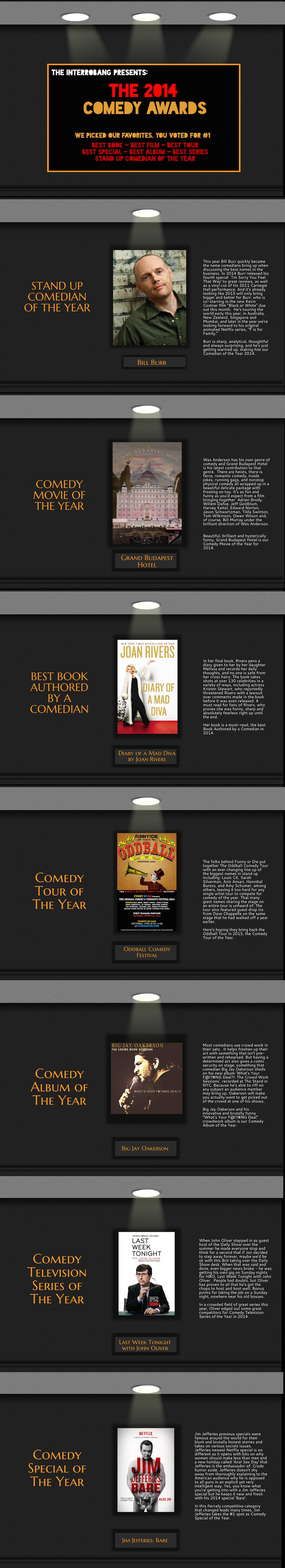 2014 final comedy awards