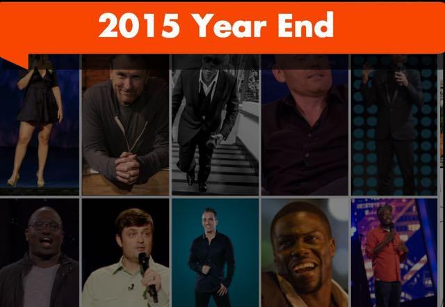 top ten stand up comedians 2015