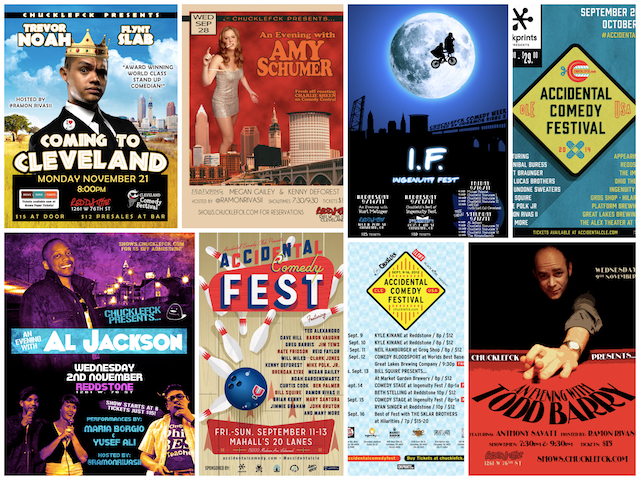 cleveland comedy posters