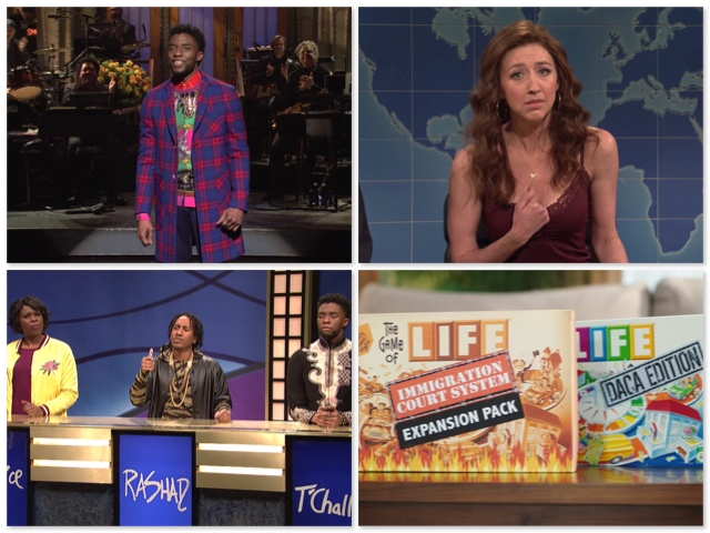 What Happened on SNL This Week? The Game of Life Enters the Trump