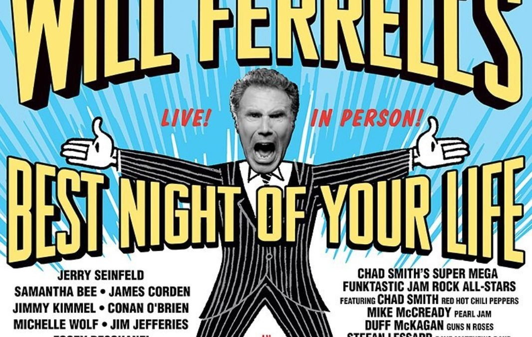 Will Ferrell Gathering All Star Rock and Comedy Show for a ...
